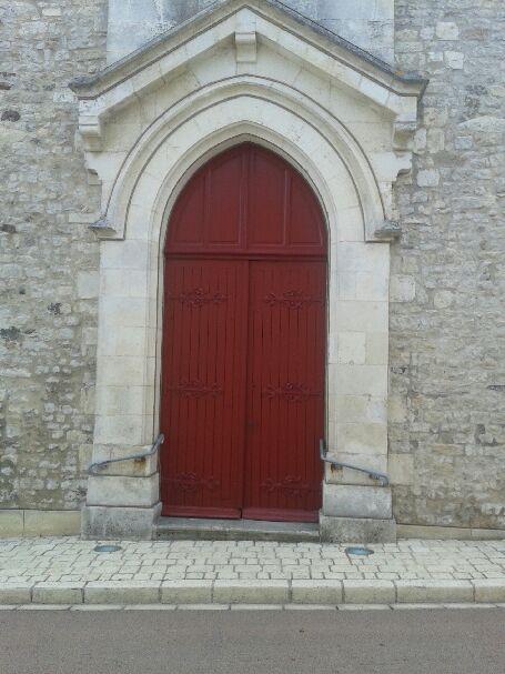 Travaux dans l'église de L'Houmeau