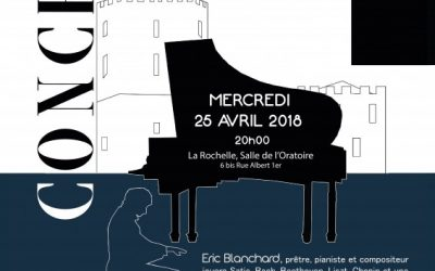 Concert EXCEPTIONNEL 25 avril 2018